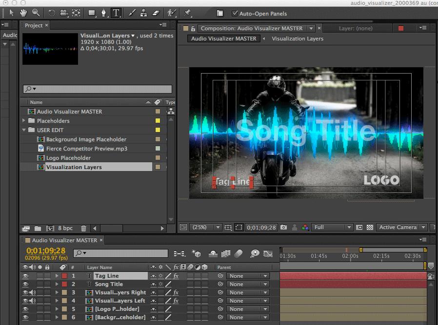 Audio Visualizer Creator Software
